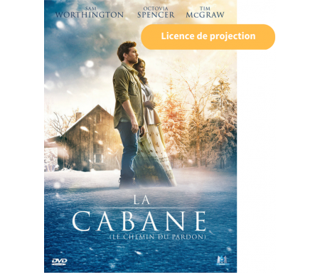 Licence Projection La Cabane (-500 pers)