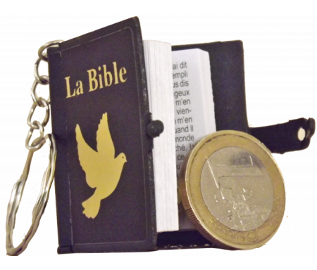 Lot de 12 porte-clés Bible...