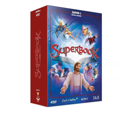 Coffret Superbook Saison 1